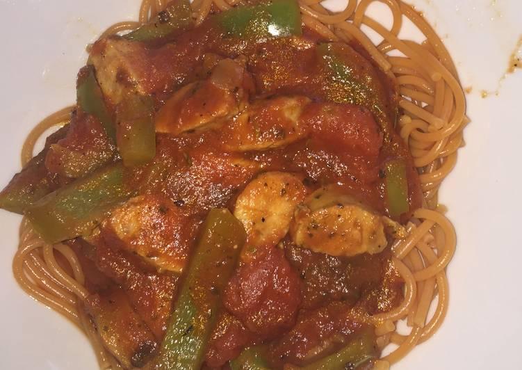 Easy & Healthy Chicken Sausage Pasta