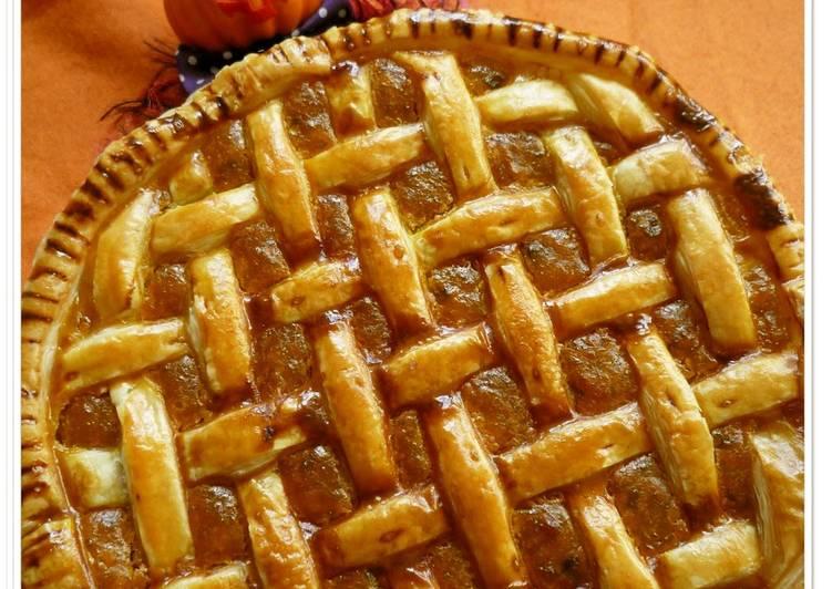 Sweet Kabocha Pie