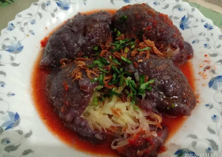 Cai pao/alias sayur di bungkus.khas BAA