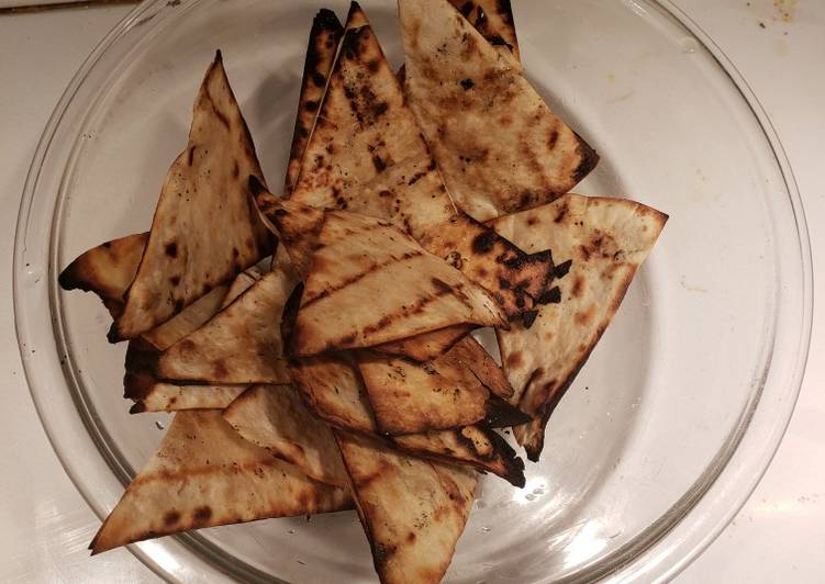 Grilled Tortilla Chips