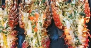 Lobster panggang oven praktis
