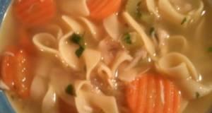 Comfort Chicken Noodle Soup