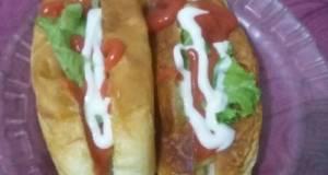 Hotdog sosis homemade