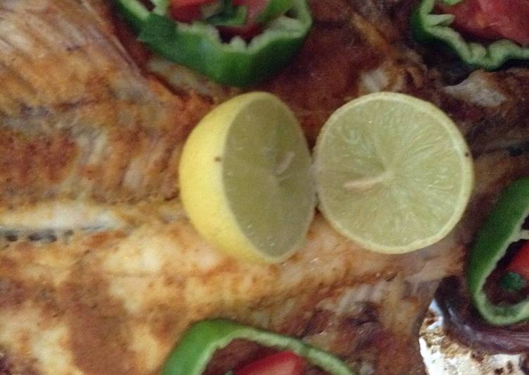 Grilled Fish With Olive Oil