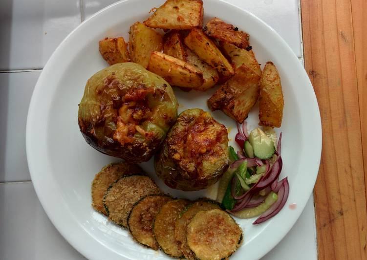 Vegetarian Oven grilled Pepper