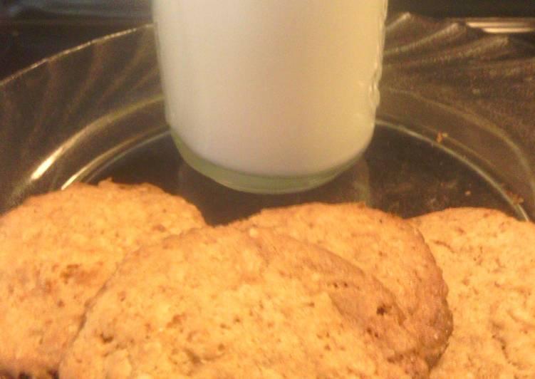 sunshines crispie lemon oatmeal cookies