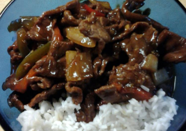 , How to Make Yummy Chinese Peppersteak #4