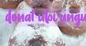 Donat ubi ungu /olahan ubi ungu