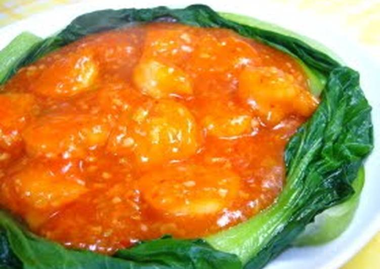 Easy and Authentic Shrimp With Chili Sauce