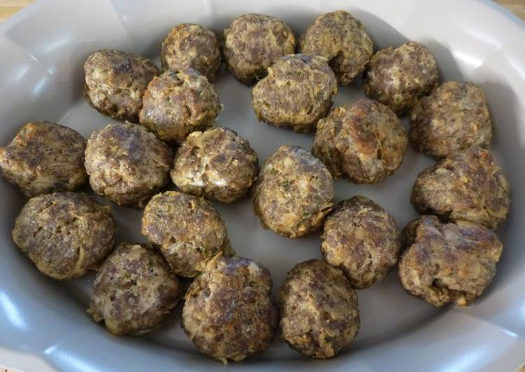 Easy Italian Meatballs With A Twist