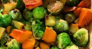 Banging Brussel Sprout Medley