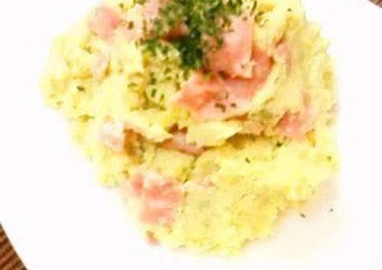 Easy and Comforting Sweet Potato Salad