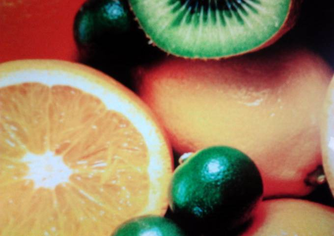 Citrus Drink for kids and adults