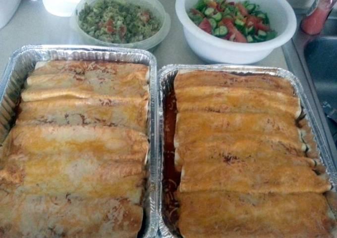 Leftover Bbq Pork Rib Enchiladas