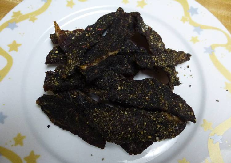 Sweet And Spicy Cola Pepper Beef Jerky