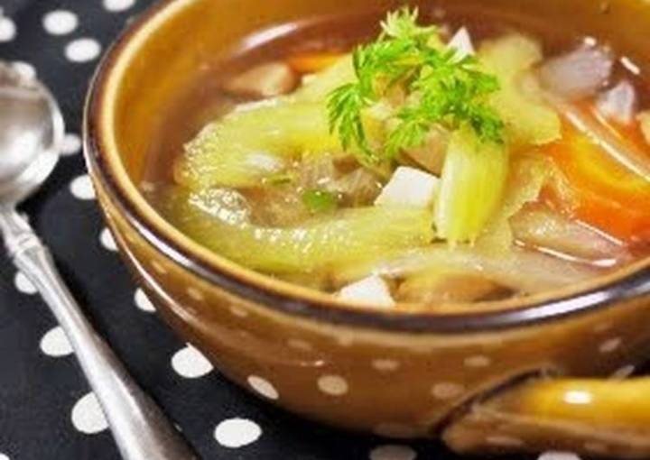 Easy Celery Chicken Soup