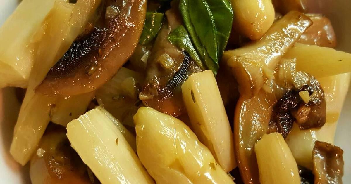 白酒奶油炒白蘆筍食譜 by DubiGupi Chang - Cookpad