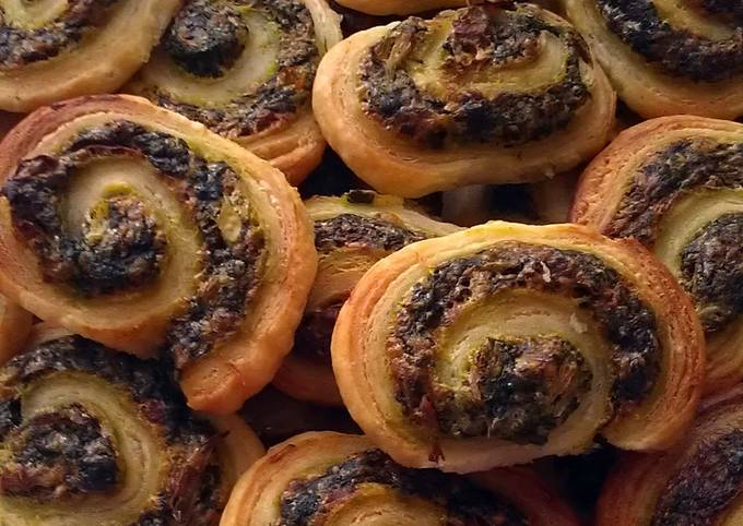 Vickys Artichoke & Spinach Pinwheels, GF DF EF SF NF