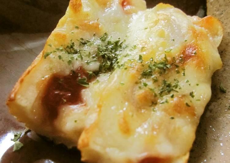 Pizza-style Chikuwa