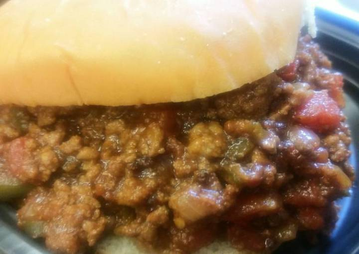 Home-made Sloppy Joes