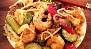 Mike's Sweet & Spicy Firecracker Shrimp & Noodles