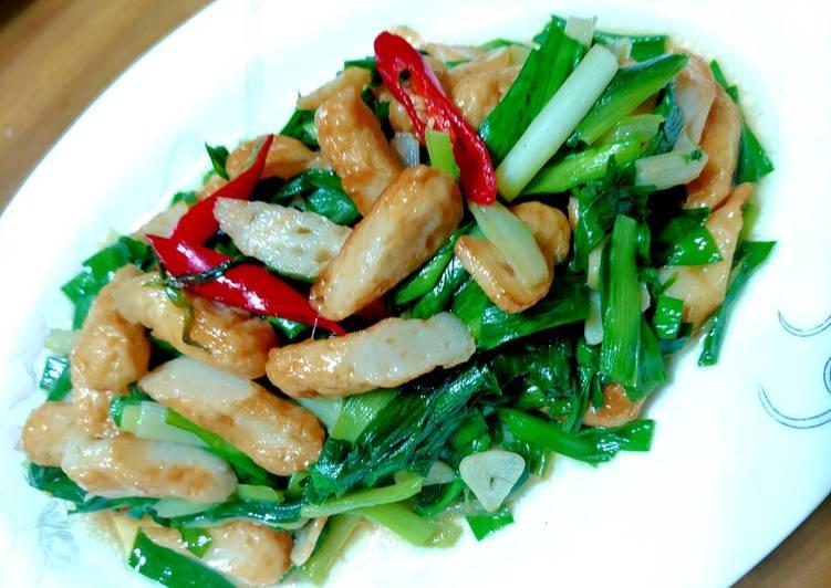 魏鈺娟(娟娟廚房創意料理) 發表的 韭菜炒甜不辣 食譜 - Cookpad