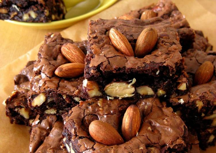 Rich and Dense Grown-up Brownies