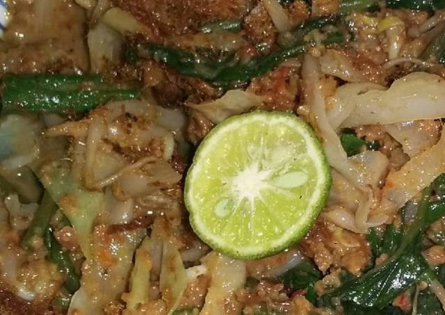 Lotek/pecel sayur