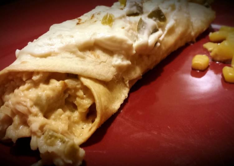 Low-fat Creamy Chicken Rollups