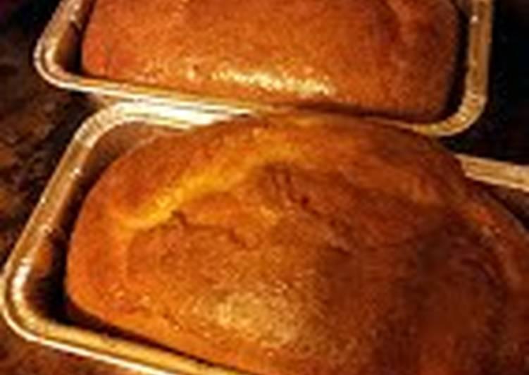 Sheree's Busy Woman 'Banana Bread' (semi-homemade)