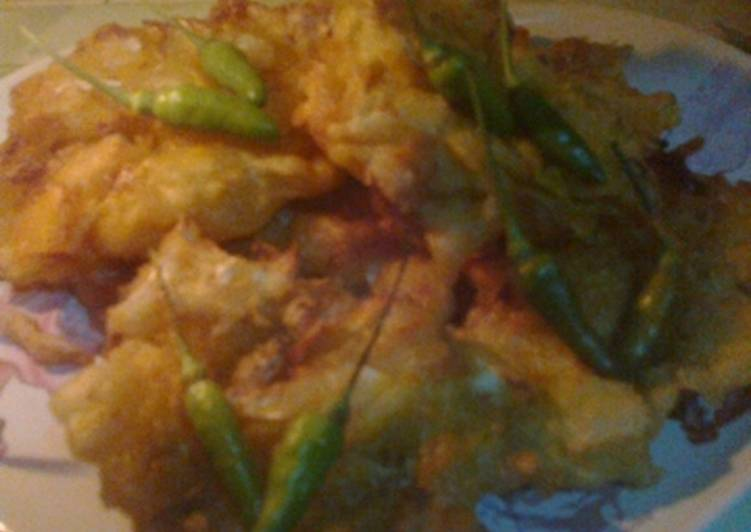 Bala Bala/Bakwan sayuran sederhana Enak