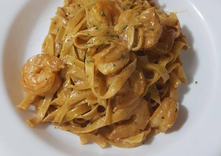 🔥Creamy Creole Shrimp scampi