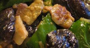 Pork Eggplant and Bell Pepper Miso Stir-fry that Kids will Love
