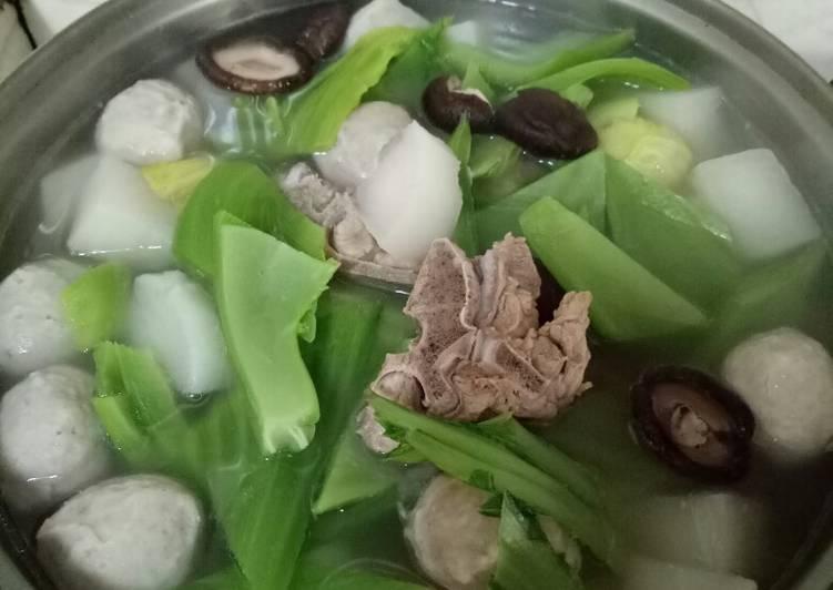sandy Li 發表的 長年菜排骨湯 食譜 - Cookpad