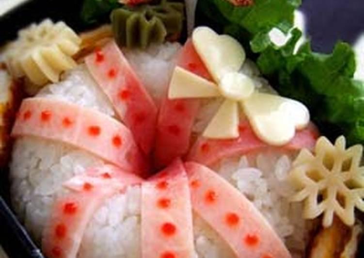 White Christmas Wreath Bento Lunchbox