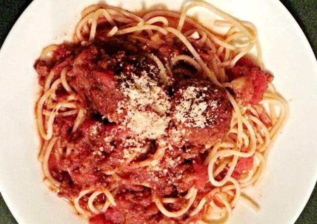 Tinklee's Spaghetti and Italian Meatballs