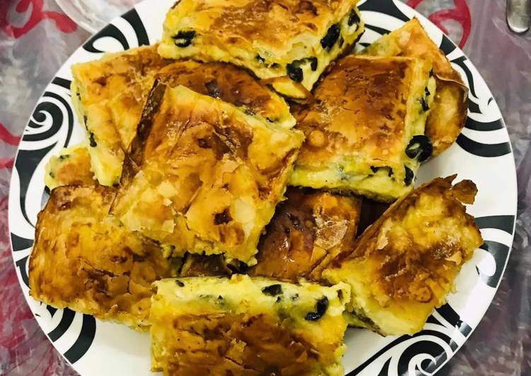 Phyllo Meat Pie (Egyptian Goulash)