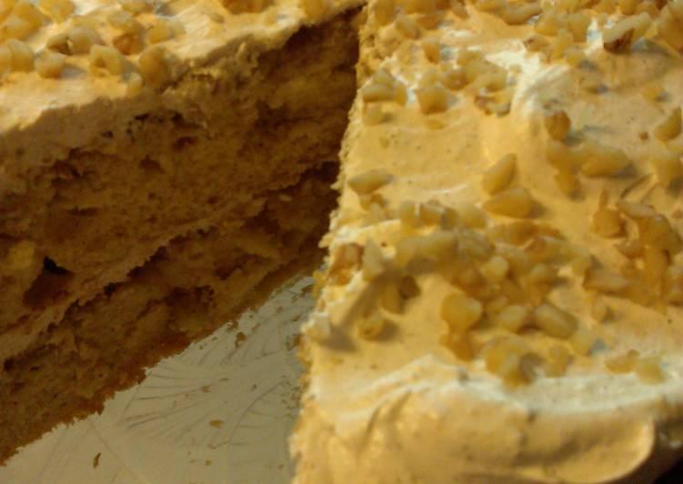Apple Crumble Layer Cake