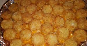 Tater Crown Cheeseburger Casserole