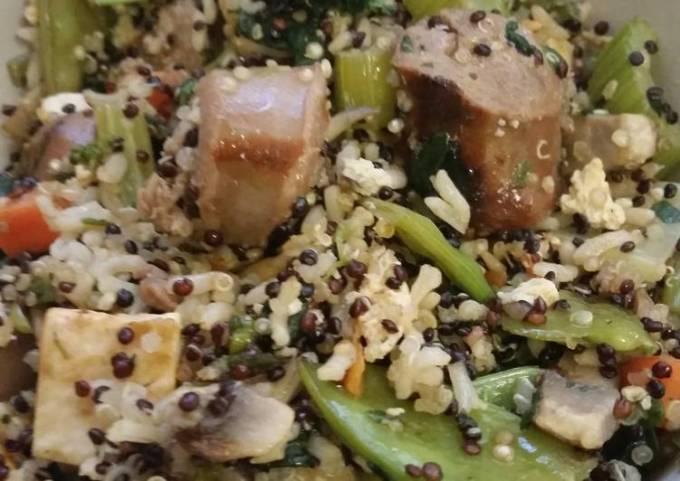 Quiona Sausage Fried Rice