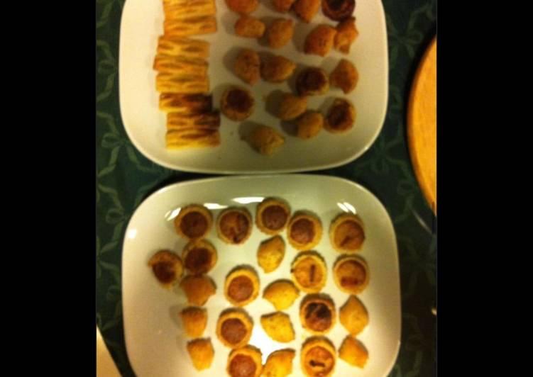 Petits fours apéritifs (fromage,tomate,anchois)