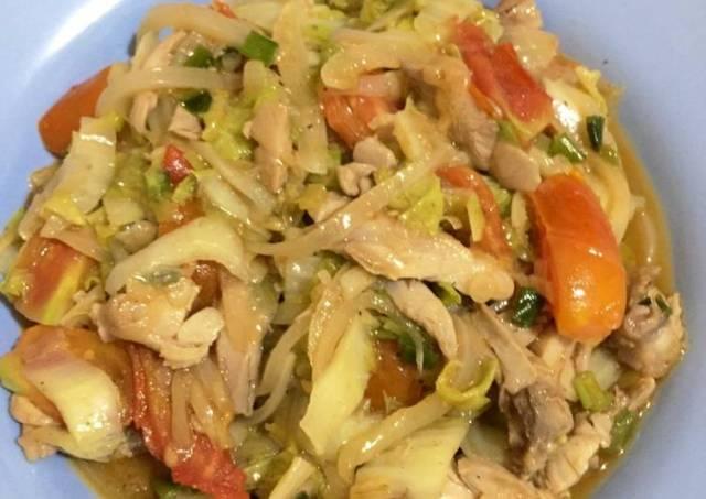 Menu Diet Simple (Cap Cay Sehat Rendah Kalori)