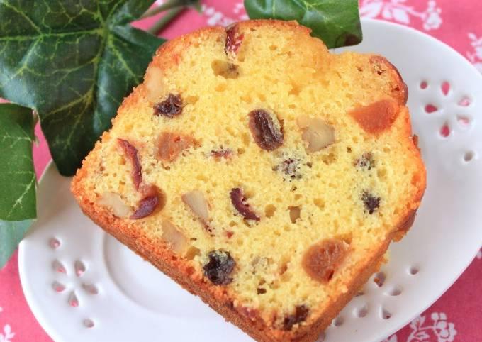 Easy Fruit Cake (for grownups, too)
