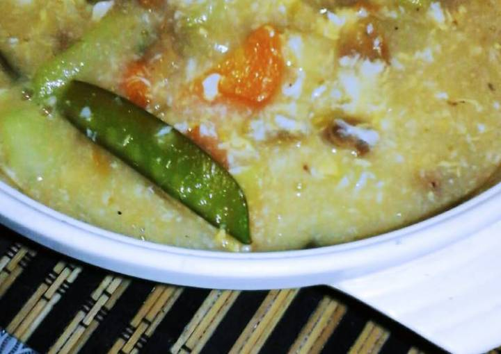 simple homemade vegetable soup