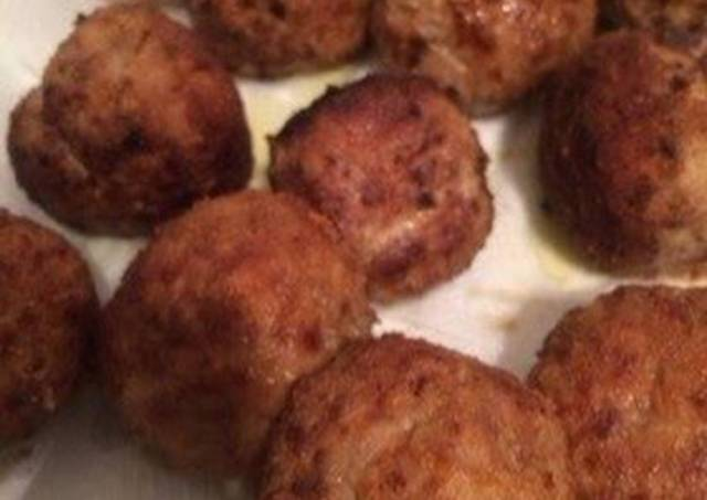 Italian Meatballs (Polpetta)