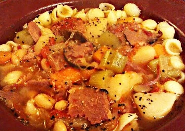 Sweet Hambone Soup