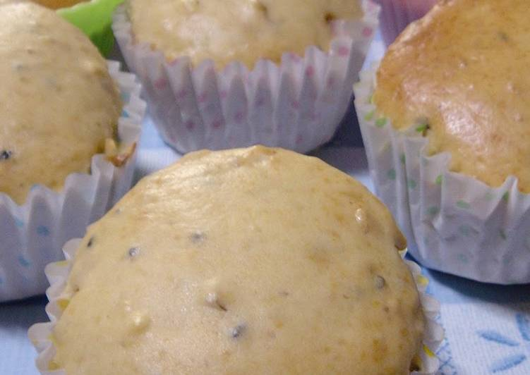 Quick, Easy and Beautiful Sake Lees Muffins