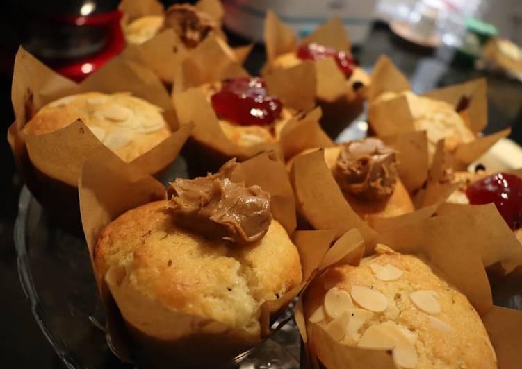 Muffins supers moelleux au lait pasteurisé