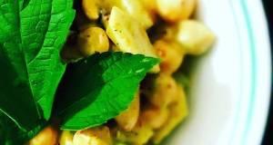 Mayo Chickpea Almond Salad