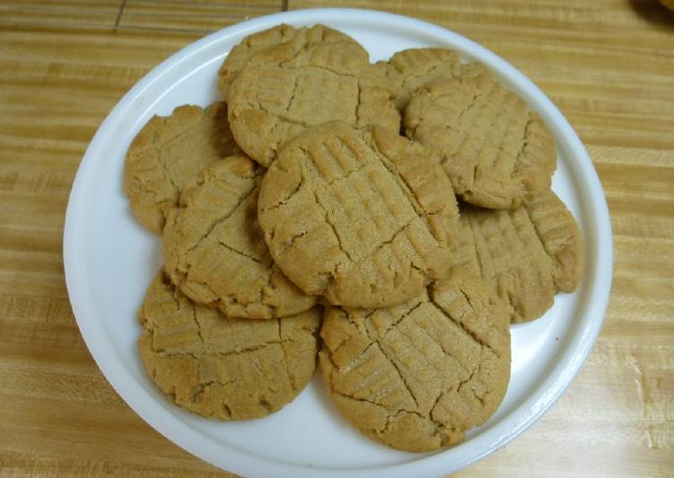 Totally Stolen Peanut Butter Cookies